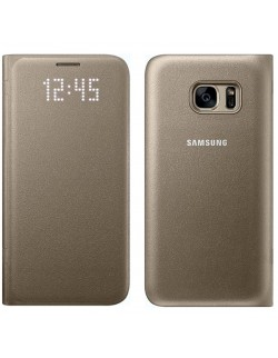 Husa Samsung Led View Cover aurie Galaxy S7
