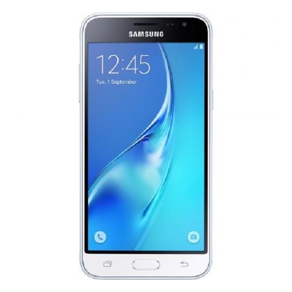Telefon mobil Samsung Galaxy J3 Dual Sim Alb