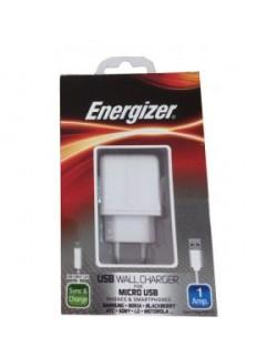 Incarcator priza Energizer 2 USB 1A Alb