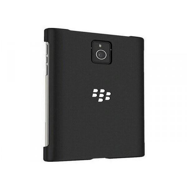 Blackberry carcasa silicon negru Passport