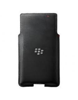 Blackberry Priv Toc din piele vertical negru