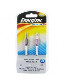 Energizer cablu audio stereo jack mov