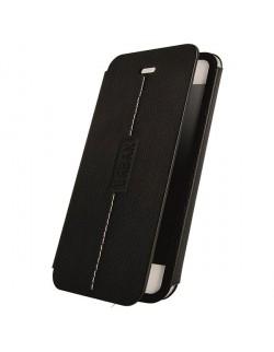 Accesoriu husa protectie Oxo tip carte neagra Iphone 6 Plus/6S Plus