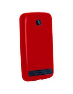 Accesoriu Oxo carcasa silicon rosie Sony E1
