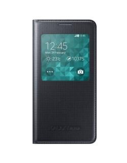 Husa Samsung Galaxy Alpha S-view neagra