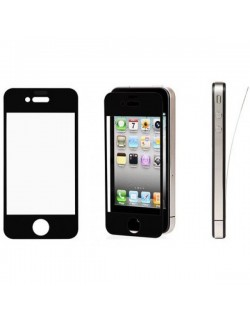 Folie protectie Apple Iphone 4 Neagra
