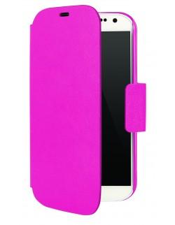 Husa Oxo tip carte roz Samsung S4