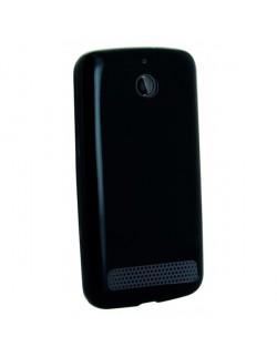 Accesoriu Oxo carcasa silicon neagra Sony E1