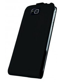 Husa Oxo flip Samsung Alpha neagra