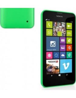 Nokia capac spate plastic verde Nokia Lumia 630