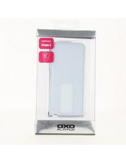 Carcasa Oxo cu capac Iphone 5 alba
