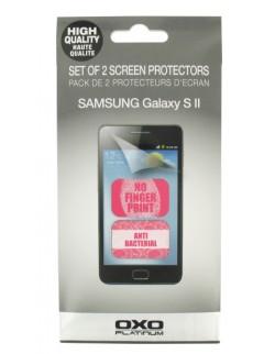 Set 2 folii protecție ecran anti-bacterian și împotriva petelor Samsung Galaxy SII