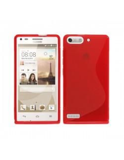 Huawei carcasa silicon rosie Ascend G6 LTE