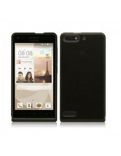 Huawei carcasa silicon neagra Ascend G6 LTE