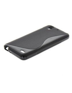 Carcasa silicon neagra Huawei Ascend G630