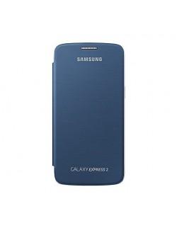 Husa flip Samsung Express 2 albastra