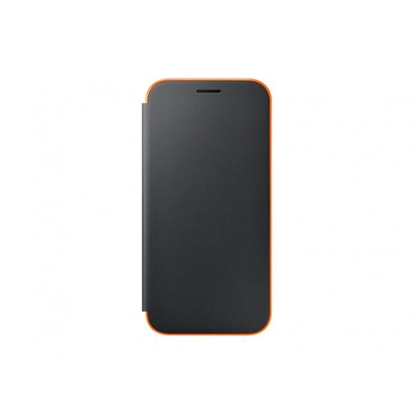 Husa flip neon Samsung Galaxy A5 2017 neagra