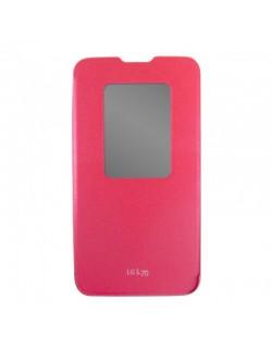 Husa flip roz LG L70