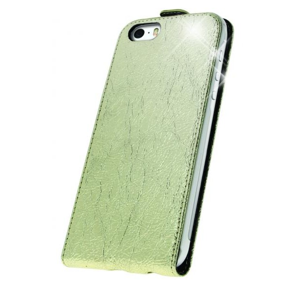 Oxo husa flip aurie Iphone 5/5S