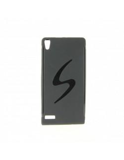 Carcasa Oxo silicon Huawei P6 neagra