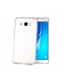 Celly carcasa silicon alba Samsung Galaxy J7 2016