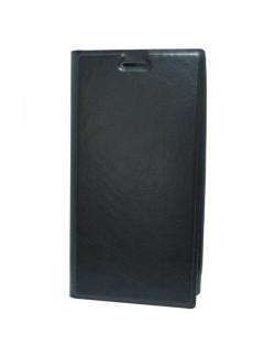 Oxo husa tip carte neagra Sony Xperia Z1