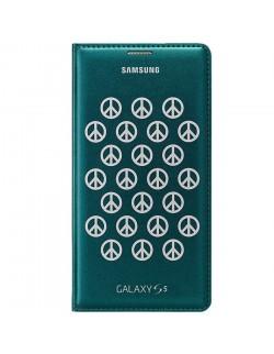 Samsung husa tip carte verde Samsung Galaxy S5