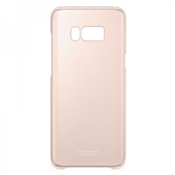 Samsung husa clear cover roz Samsung Galaxy S8