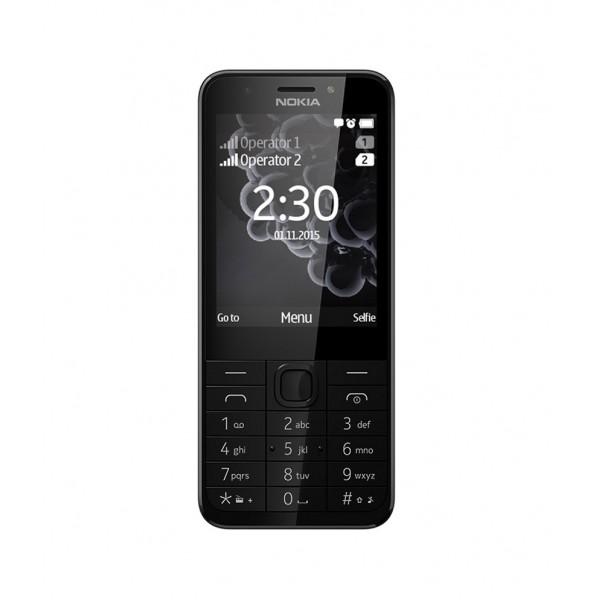 Telefon mobil Nokia 230 Dual Sim Negru