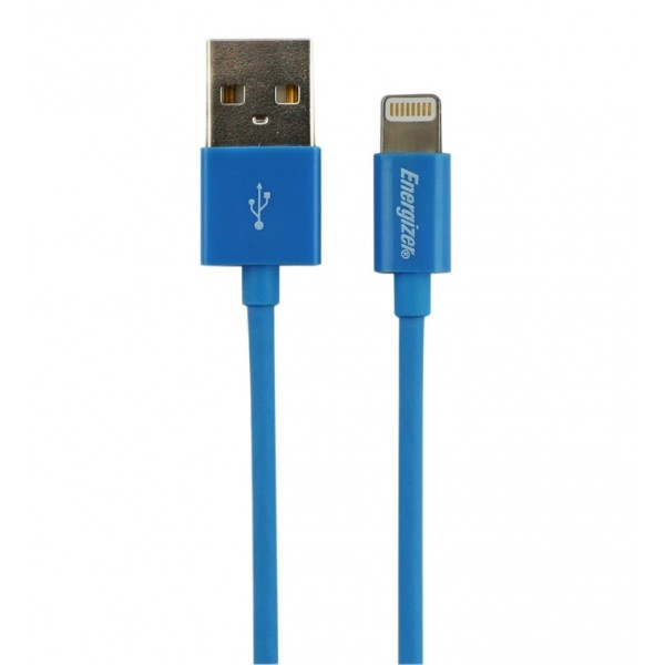 Energizer cablu date lightning albastru