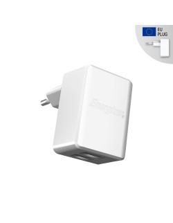Energizer Adaptor Retea, 2.4A, 2USB, Alb