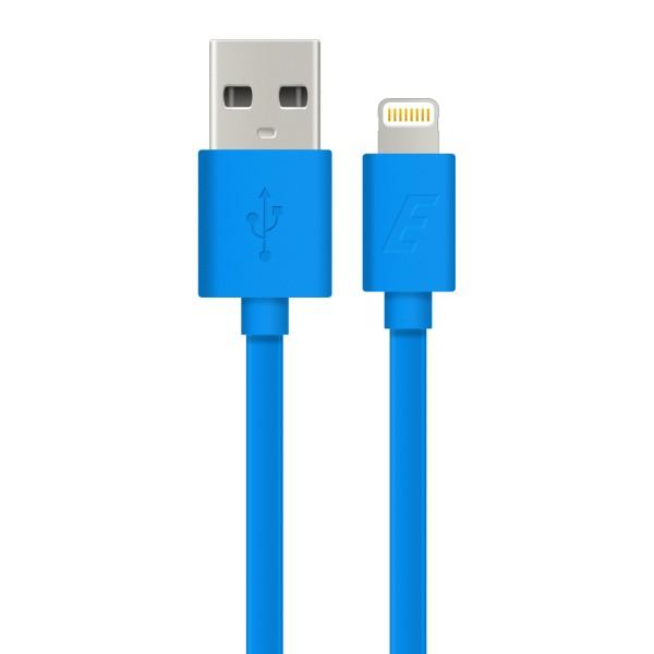 Cablu Lightning Ultra Plat Energizer, Albastru , 1.2m