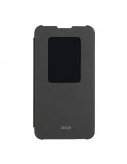Accesoriu LG protectie tip carte neagra L70