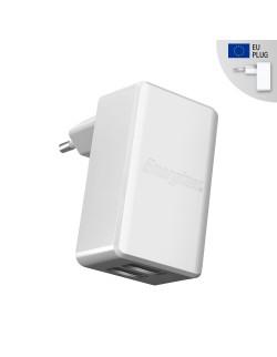 Energizer incarcator priza microUSB 4.8A Alb