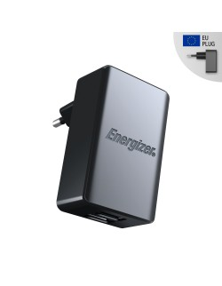 Energizer incarcator priza microUSB 4.8A Negru