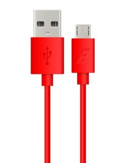 Cablu date Energizer microUSB rosu