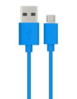 Cablu date Energizer microUSB albastru