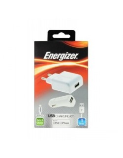 Energizer incarcator 3in1 auto/priza 1Amp iPhone 5