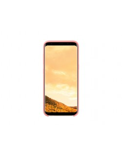 Samsung S8 Silicone cover pink