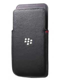 Husa piele neagra Blackberry Z30