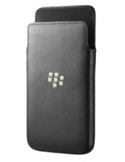 Husa piele neagra BlackBerry Z10
