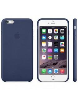 Apple carcasa piele albastra iPhone 6 Plus