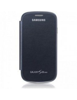 Protectie tip carte Samsung Galaxy S3 Mini Albastra