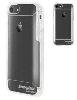 Carcasa spate silicon 3 straturi transparenta antisoc (droptest 2m)iPhone 6/7/8