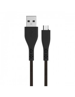 Energizer Cablu MicroUSB, 1.2m, LifeTime Warranty, Negru