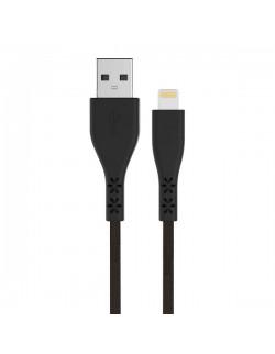 Energizer Cablu Lightning, 1.2m, LifeTime Warranty, Negru
