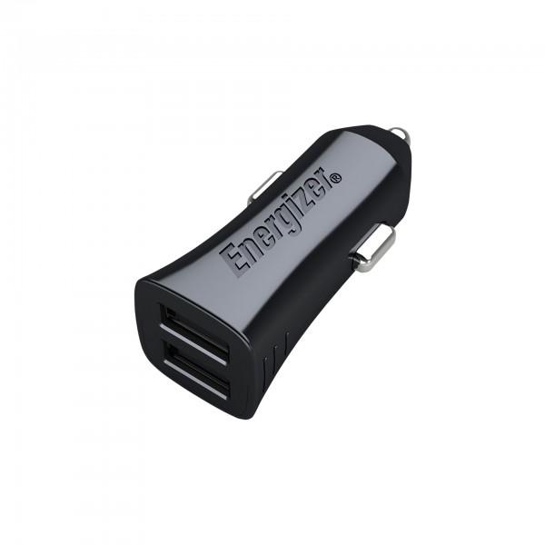 Energizer Adaptor auto 3.4A, 2USB, Negru