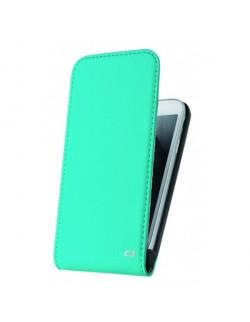 Accesoriu Oxo carcasa cu capac piele albastra Samsung Galaxy S5