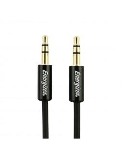 Energizer Cablu Jack-Jack 3.5mm Aluminiu, 1.2m, Negru