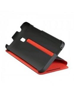 Accesoriu protectie tip carte neagra HTC Desire 500